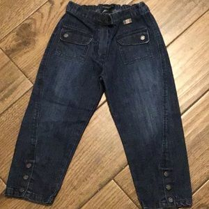 Authentic Burberry girl jeans